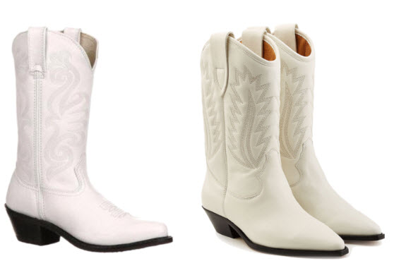 Be Fashionable with Your White Cowgirl Boots