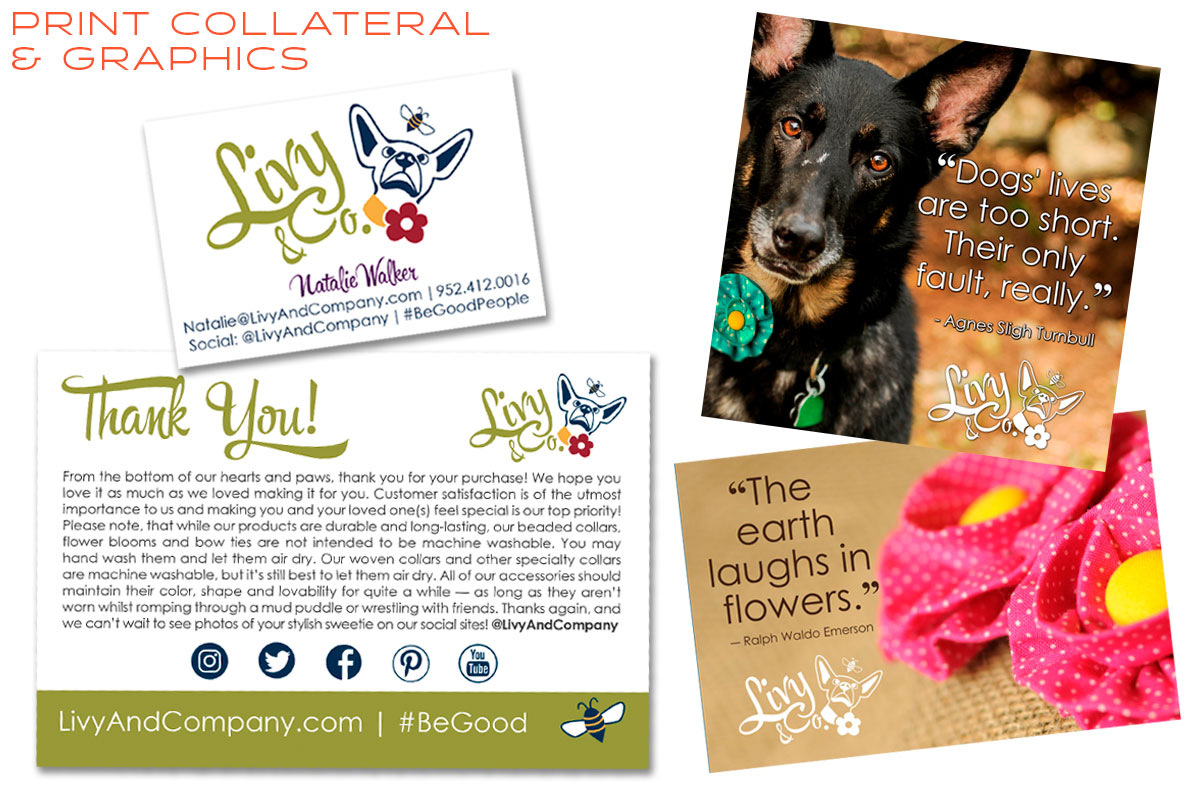 Livy and Company Print Materials & Custom Graphics