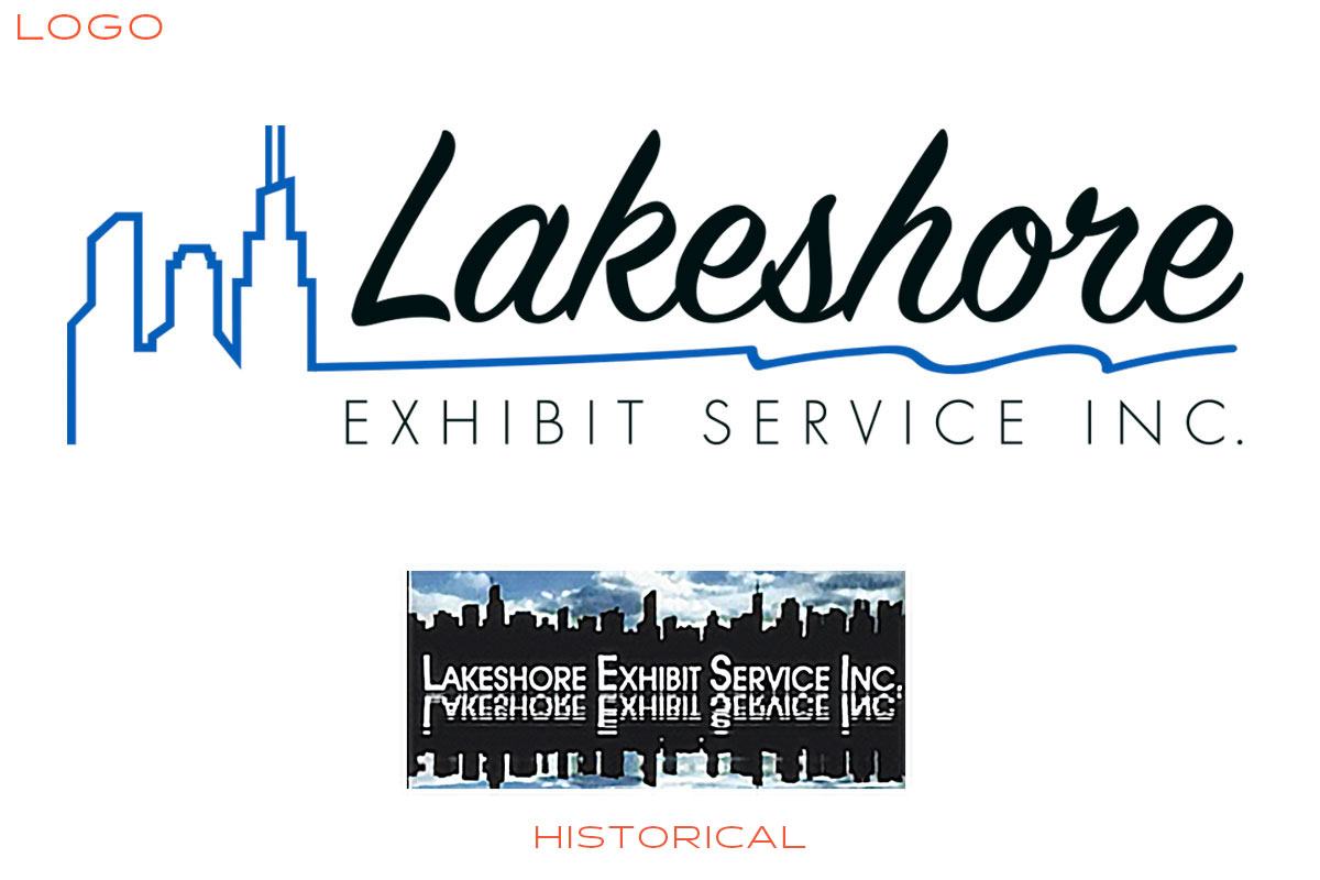 Lakeshore Exhibits Logo Design