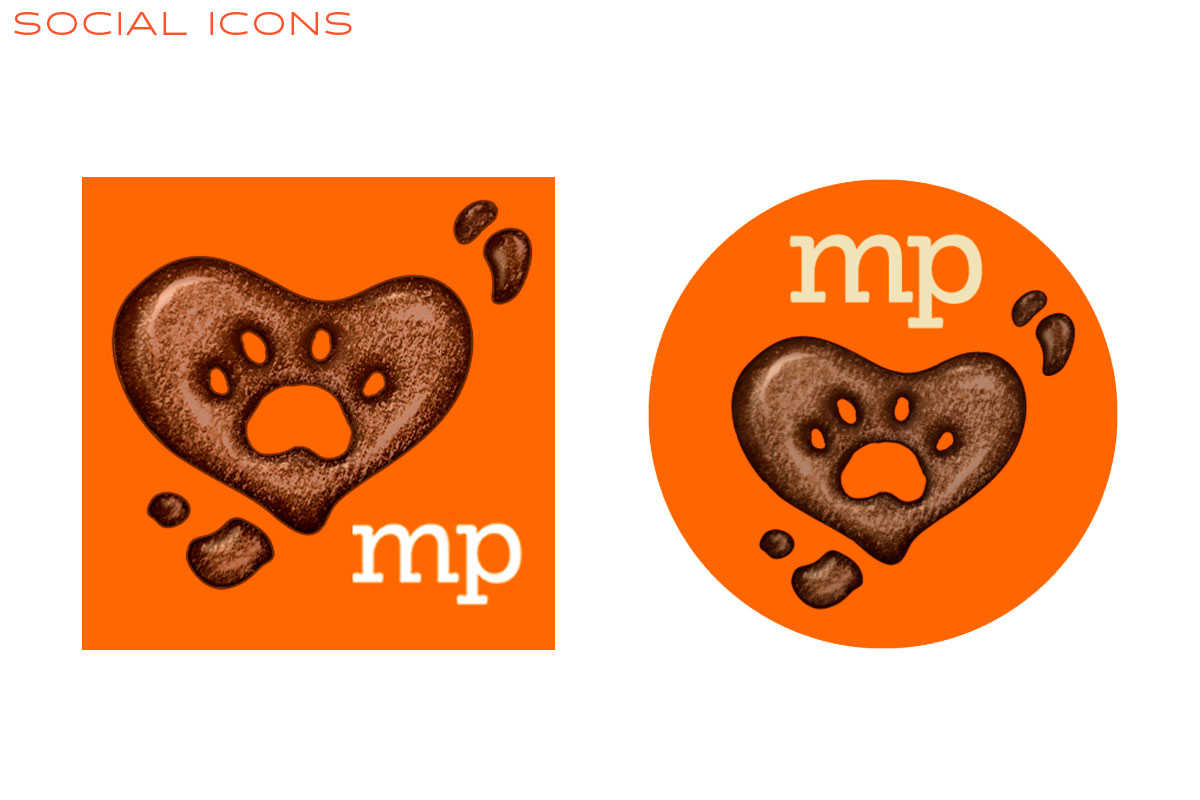 Muddy Paws Toys Social Icons