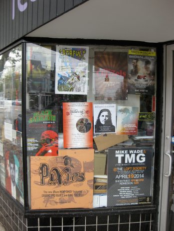 in the window at everybody's records