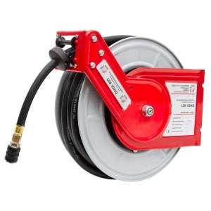Enrouleur tuyau d'air comprime 10m LSR10HQ pneumatique
