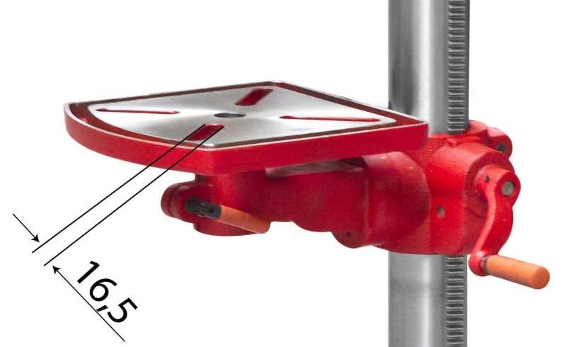 Perceuse d'établi Holzmann SB4116HM 400V Table de Travail