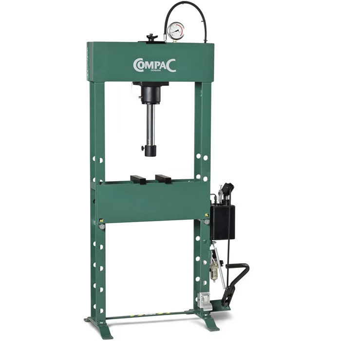 Presse hydraulique d'atelier manuelle Compac HP25