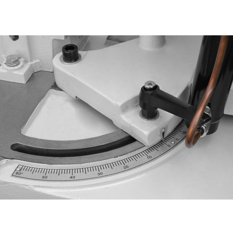 Scie-à-ruban-métal-Cormak-Aurora-G5013W---Angle-de-coupe