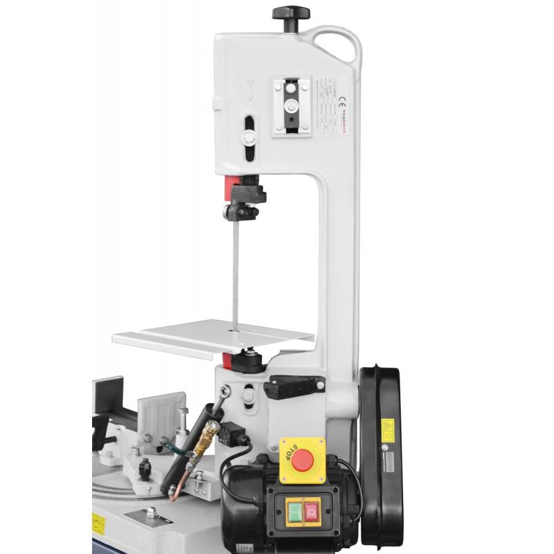 Scie à ruban métal Cormak BS128HDR 230v table pour utilisation verticale