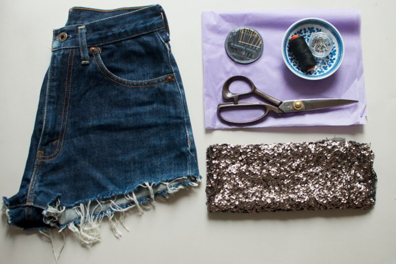APairAndASpare-diy-sequin-shorts-2