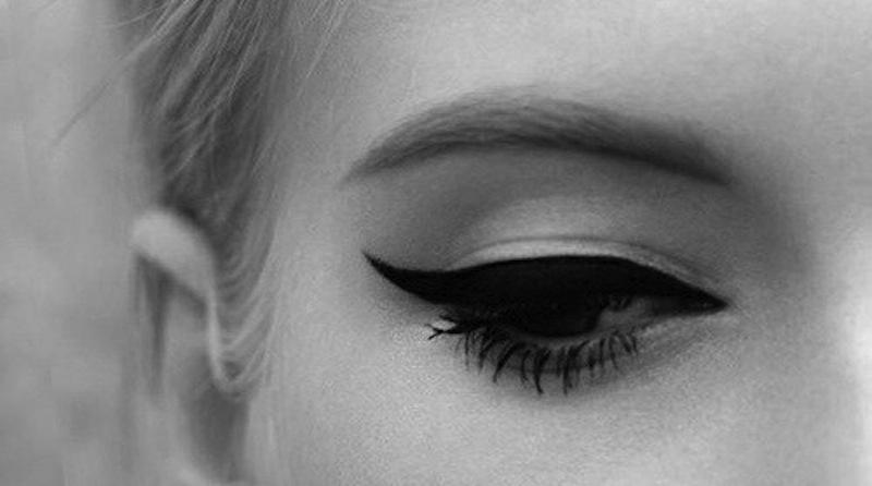 eye liner bw