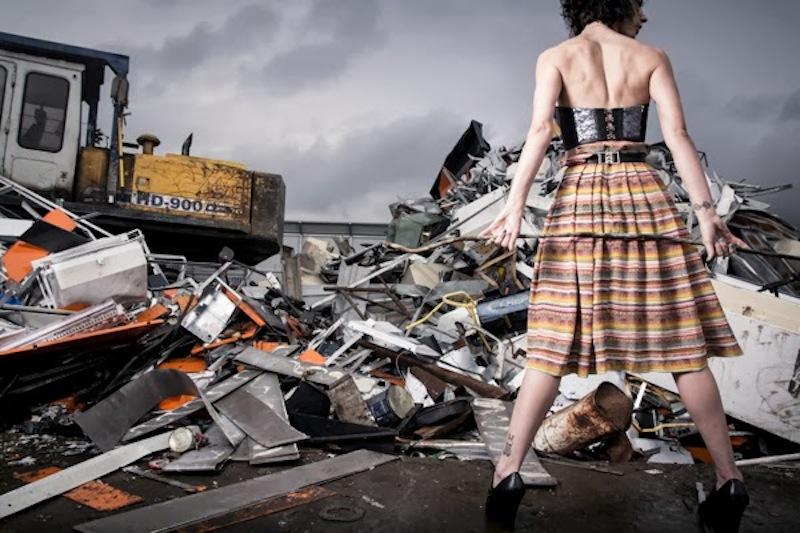 textile waste landfill