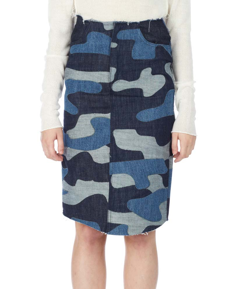 Marques-Almeida-camo-denim-skirt-1