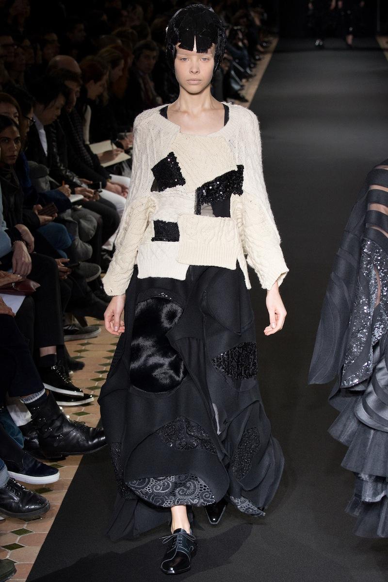 Junya Watanabe Fall 2014 knitwear 1