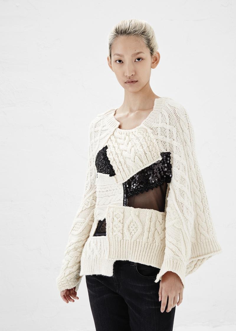 Junya Watanabe Fall 2014 knitwear 3