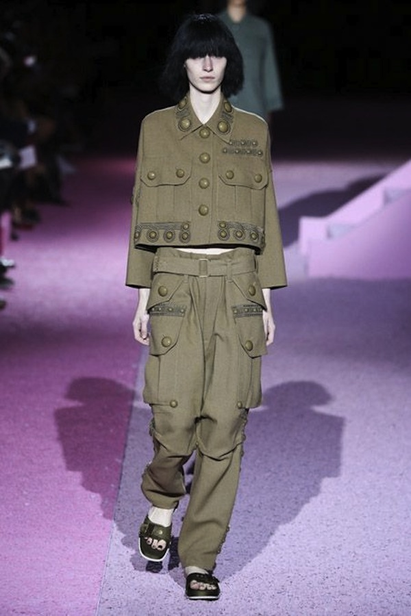 Marc Jacobs SS2015 army styling 4