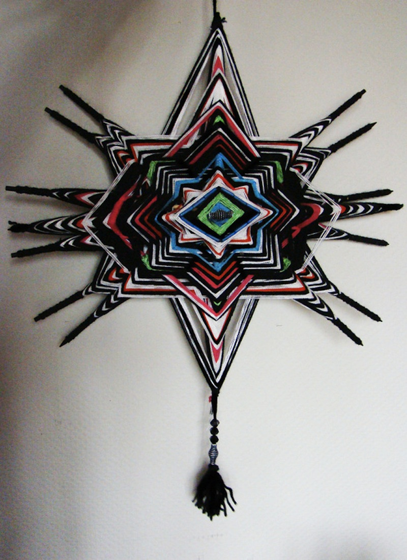 The Ojo de Dios Gods Eye weawing crafts 1