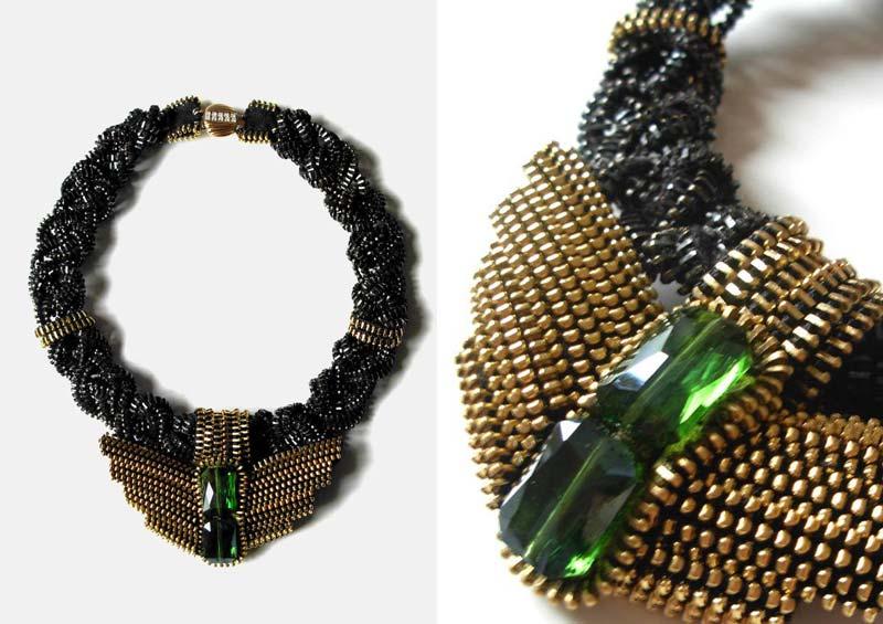Reborne-Jewelry-The-Nightingale-Zipper-Necklace-2012-1