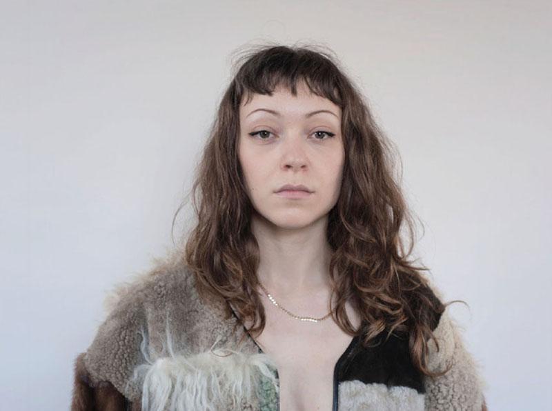 Milena Silvano fur shearing coat jacket 12