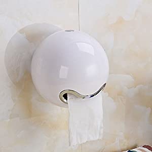 cittatrend distributeur plastique porte papier toilette support mural derouleur boite rangement rouleau papier wc pour mur table salle de bain cuisine