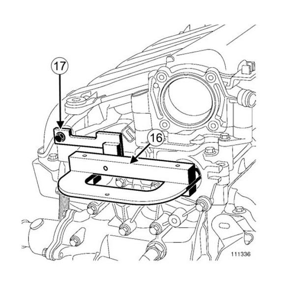 calage distribution Renault 1.4, 1.6, 1.8, 2.0, 16V