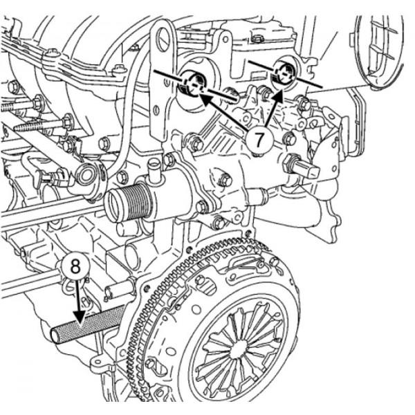 Kit calage courroie de distribution Renault