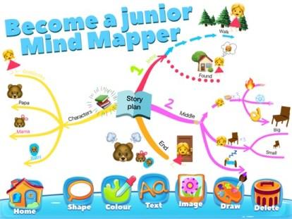 Screenshot iMindMap Kids