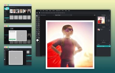 Screenshot Pixlr