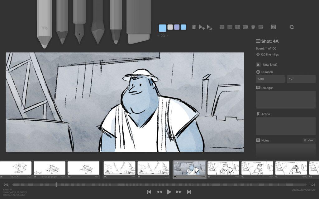 Screenshot StoryBoarder