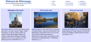 WikiVoyage magazine