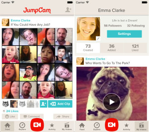 Jumpcam interface