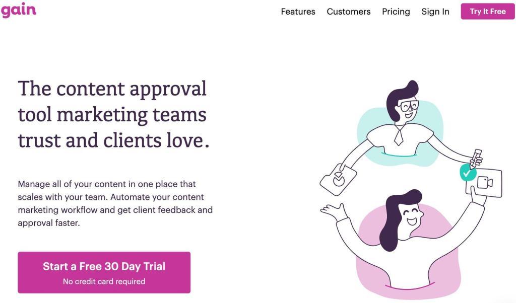 workflow contenu marketing