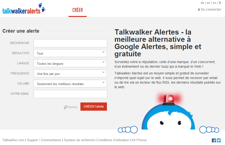TalkWalker Alerte