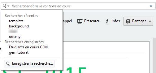 Recherches Evernote Windows