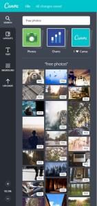 Canva images gratuites