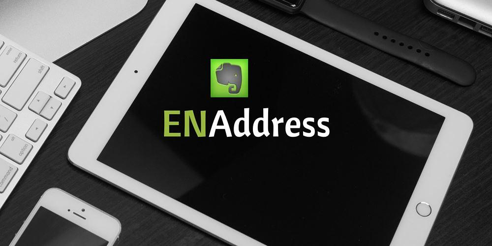 ENAddress Evernote email