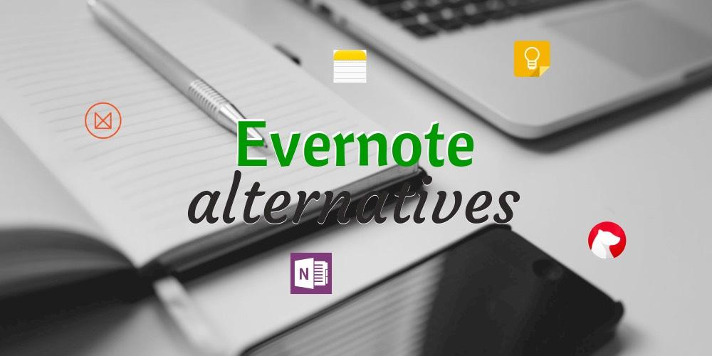 avis evernote alternatives onenote