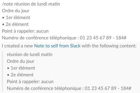 evernote slack intégration