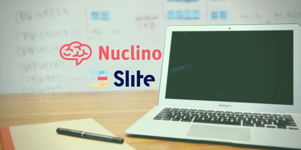 Nuclino Slite gestion connaissance collaboratif