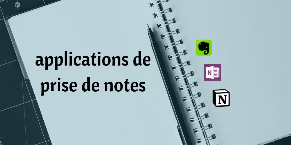Checklist application prise de notes