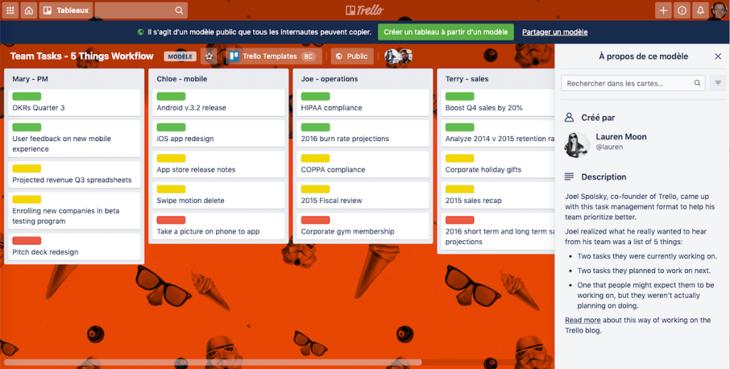 Trello outils Gestion projet