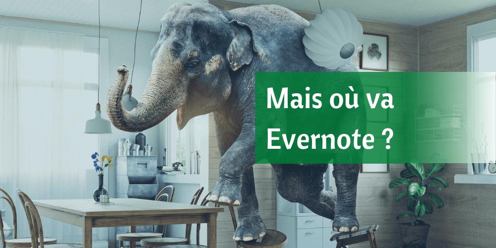 Evernote nouvelle version v10