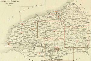 cartographie Madame Bovary