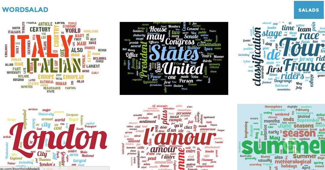 3 outils nouveaux pour créer des nuages de mots clés