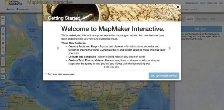 MapMaker Interactive. Créer des cartes en ligne | Les Outils ... on