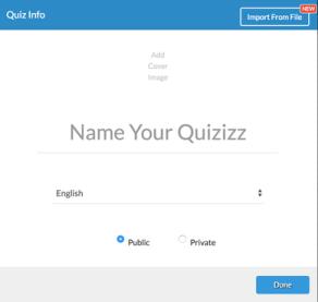 creation quiz