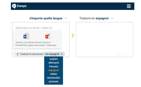 Deepl traduction en ligne