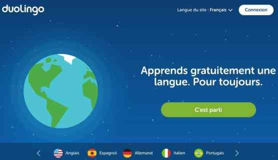 Duolingo langues