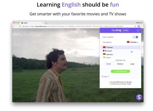 netflix langues