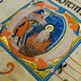 Enluminures anciennes issues des bibliothèques de la région de Philadelphie.