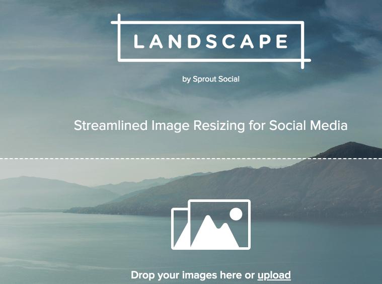 Landscape Recadrer Les Images Pour Les Réseaux Sociaux