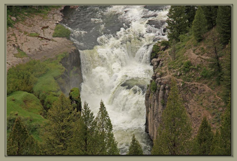 Cave Falls Wyoming  Mesa Falls Idaho  Outindewoods