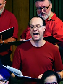 Choir Members Ben and Gery